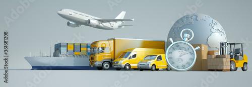 International express transportation