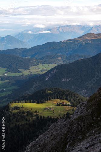 Fototapeta Scenic View Of Mountains Against Sky