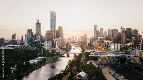 Canvas Print Melbourne City