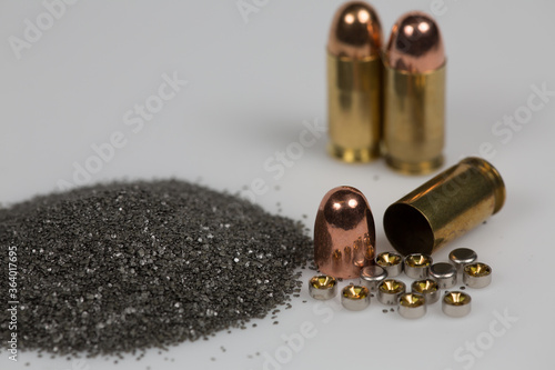 Tablou Canvas Gun with bullet