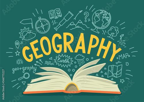 Obraz na plátně Geography