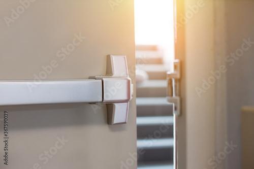 Fotografija Emergency fire exit door