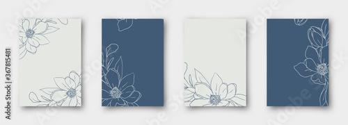Fotografia, Obraz Wedding invitation, thank you card, save the date cards