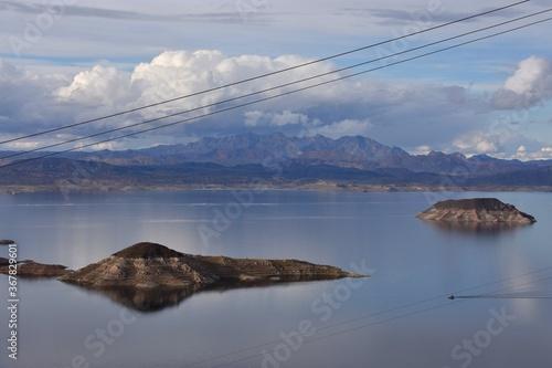 Wallpaper Mural Lake Mead - Lakeview Overlook