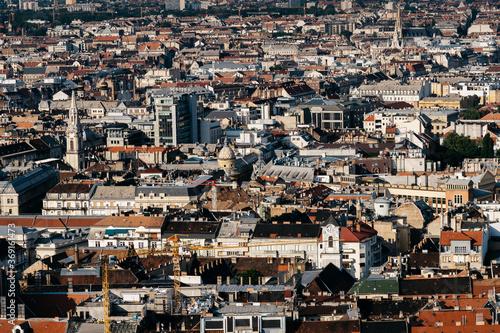 Fotografia, Obraz Overview of Budapest buildings