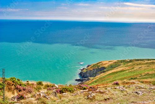 Fotografia, Obraz The coast between Bray and Greystones, south of Dublin, Ireland