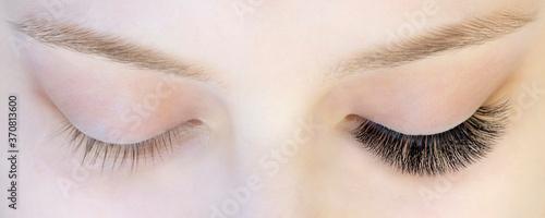 Canvas Print Eyelash extensions