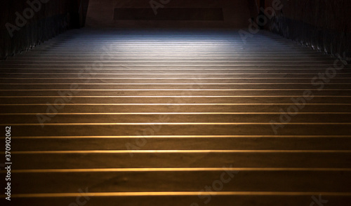Fotografie, Obraz Said to have been brought to Roman Church in the 4th Century, the Jerusalem steps led up to the Praetorium of Pontius Pilate where Jesus Christ walked on trial