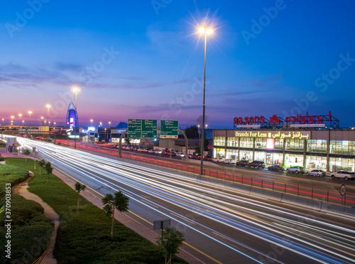 Obraz na płótnie View of only 1 in the world 7* hotel Burj Al Arab in Dubai