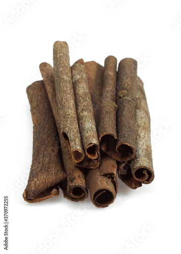 Vászonkép Chinese Cinnamon or Cassia Cinnamon, cinnamomum aromaticum