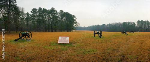Fényképezés Kolb's Battery, Chickamauga