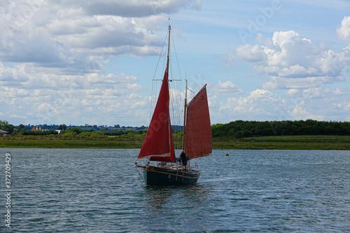 Maldon Essex Thames Barges фототапет