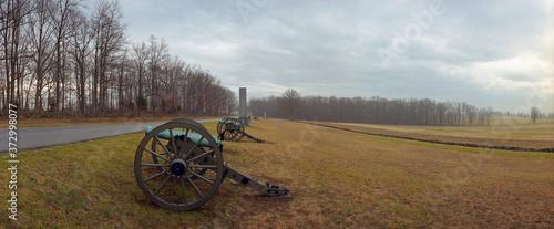 Billede på lærred Emmitsburg Rd, Gettysburg
