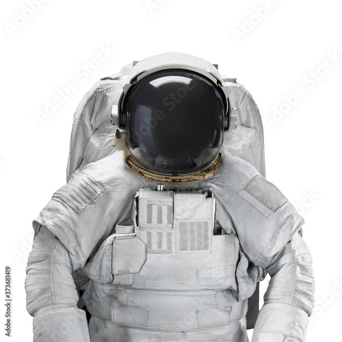 Space suit astronaut isolated on white background Fototapeta