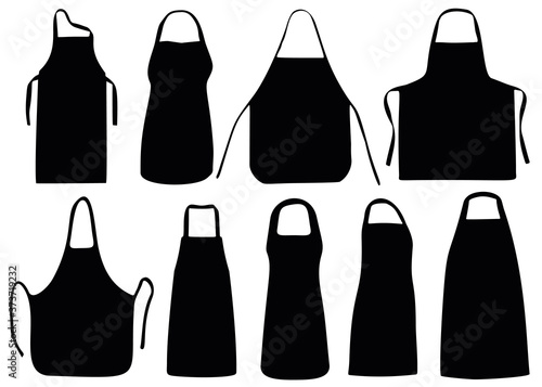 The aprons in the collection Poster Mural XXL