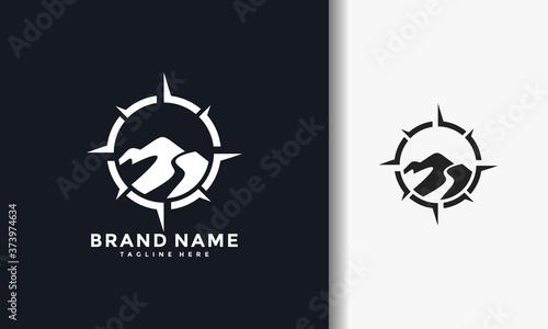 Photographie compass mount logo