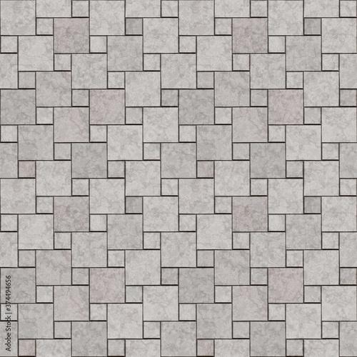 Wallpaper Mural Seamless texture of paving stones