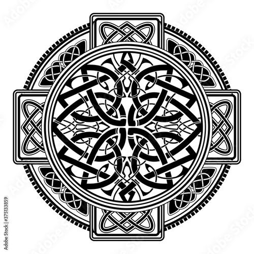 Fotografia, Obraz Celtic folk ornament