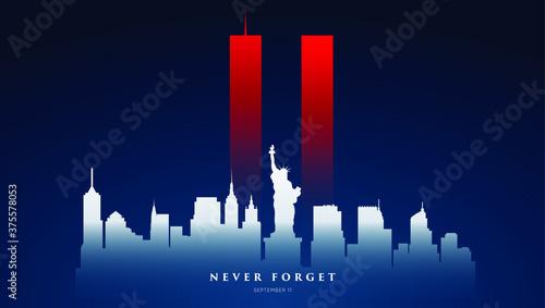 Stampa su Tela 9/11 Patriot Day banner