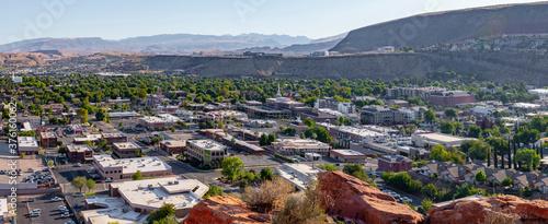 Obraz na płótnie St George , Utah USA downtown