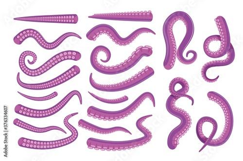 Octopus tentacle icon Fotobehang