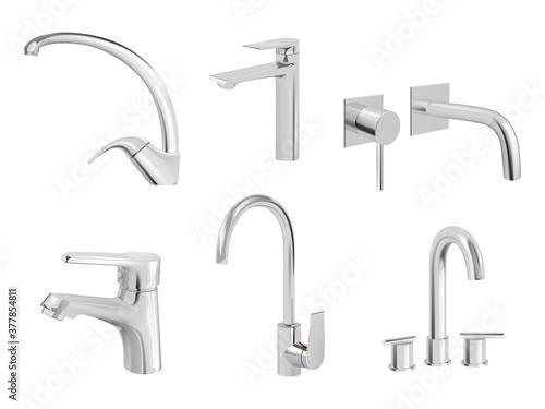Fotografie, Obraz Water chrome tap