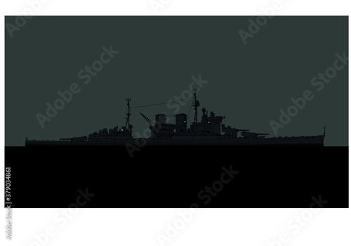 Canvas HMS Renown