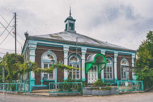 фотография The old Haji Jafar mosque, built in 1902. Quba city, Azerbaijan