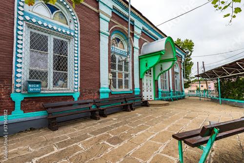 The old Haji Jafar mosque, built in 1902. Quba city, Azerbaijan фототапет