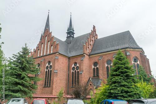 Fotografie, Obraz Church of st. Mary Magdalene in Rabka-Zdroj, Poland.
