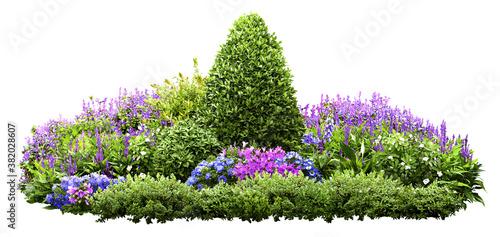 Fotografija Cutout flower bed