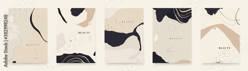 Fotografia Abstract trendy universal artistic background templates