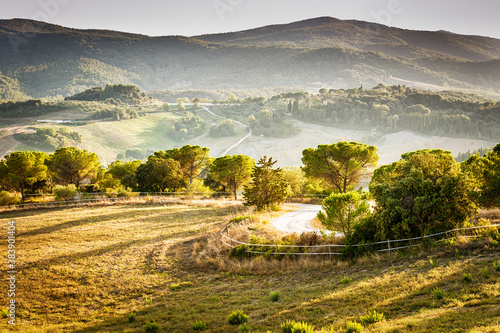 Landscape Volterra