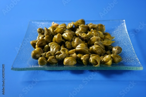Capers with vinegar snack