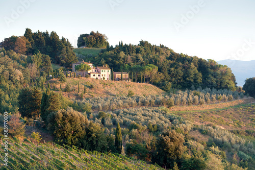 Evening in Tuscany