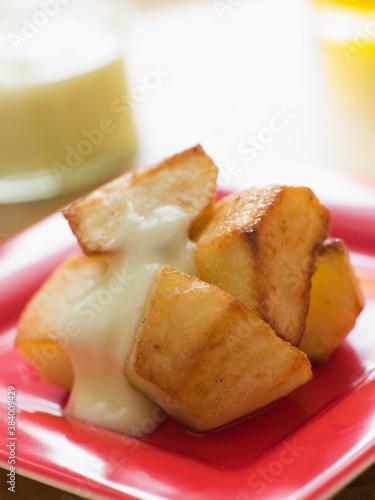 Patatas Allioli