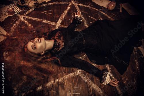 exorcism of the evil spirit Fototapet