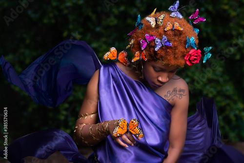 Fototapeta Butterfly Goddess