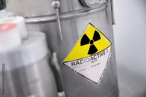 Fotografia parent isotope of technetium Tc-99m, radionuclide used in nuclear medicine