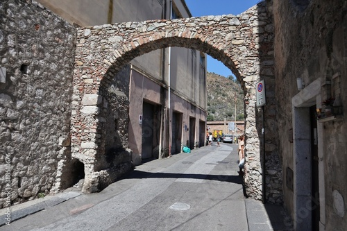 Tableau sur Toile Taormina - Archetto dei Cappuccini