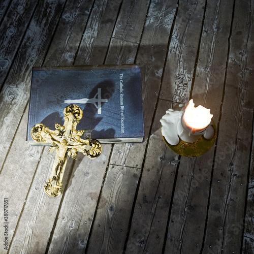 Valokuva exorcism book