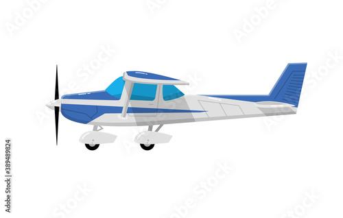 Billede på lærred Old airplane propeller icon