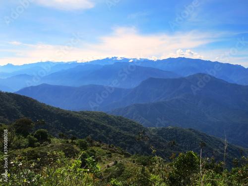 Sierre Nevada, Santa Marta Mountains, Colombia Fototapeta
