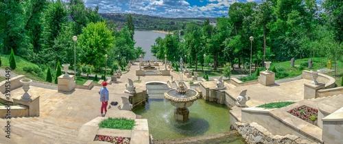 Valokuva Cascading fountains in Chisinau, Moldova