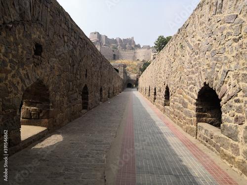 Платно Golconda Fort in Hyderabad