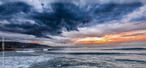 Lebanon, Tripoli- sunrise over the sea.