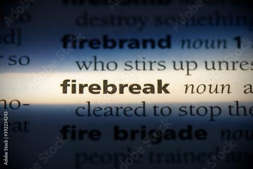Valokuvatapetti firebreak
