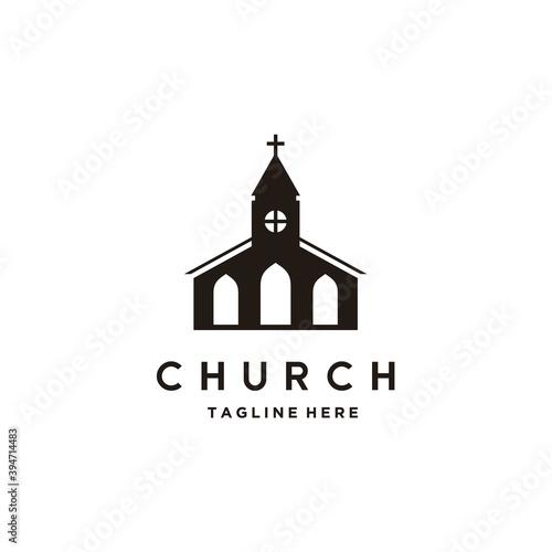 Photo Church building architecture logo design