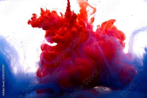 Photographie colori acqua fluttuanti magia
