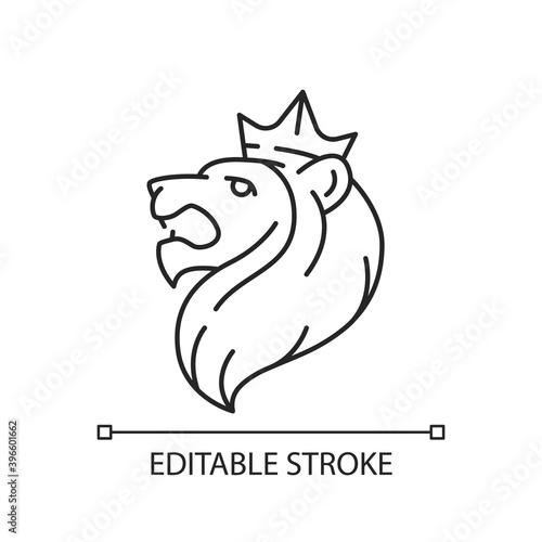 Photo Judah Lion linear icon
